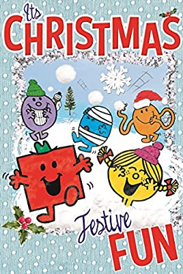 Mr Men Little Miss its felicitaciones navideñas de Navidad diseño ...