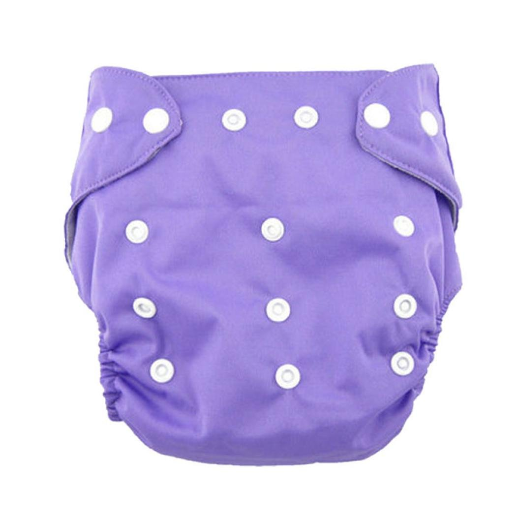 Malloom Cute Newborn Baby Adjustable Washable Ventilate Cloth Diaper Cover Re...