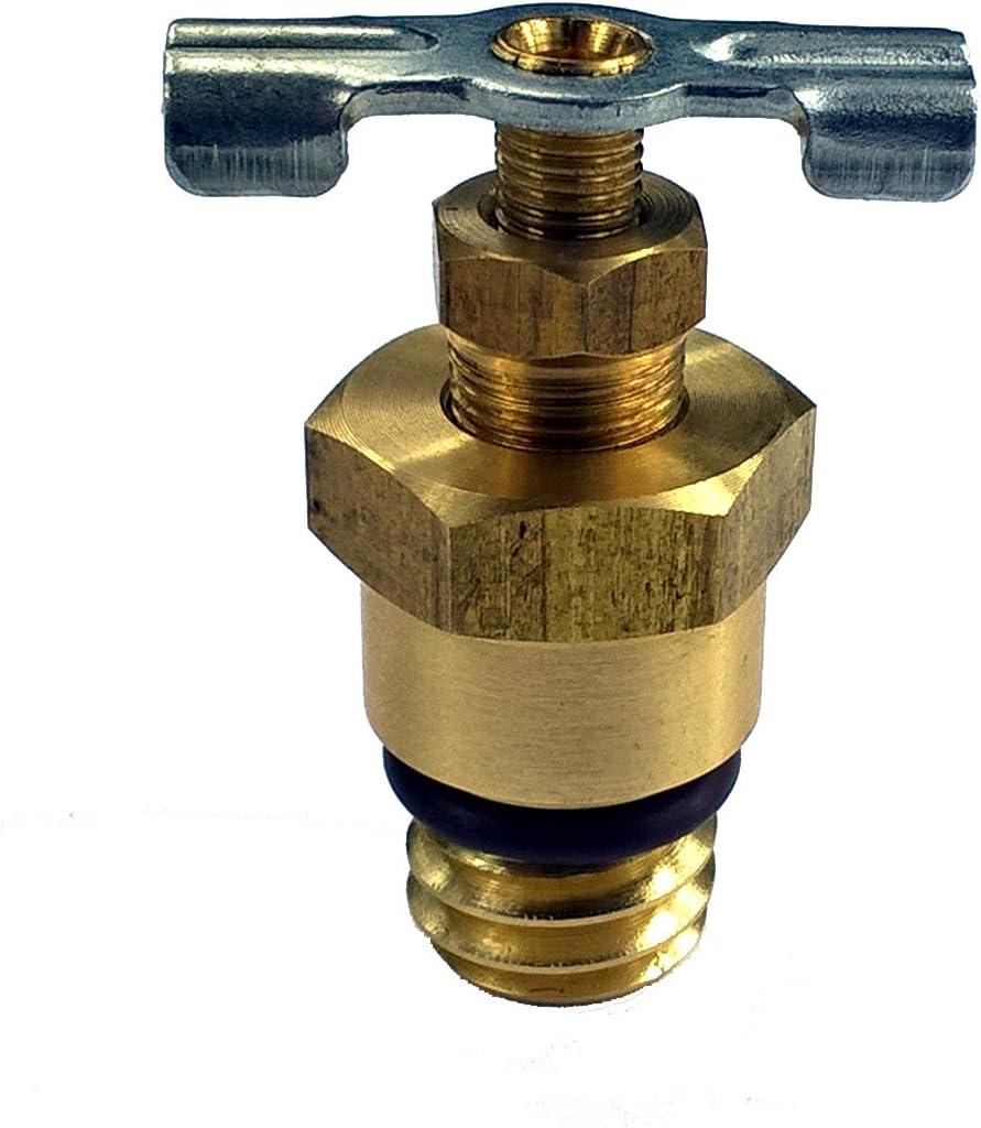 Ford Powerstroke 6.0L Diesel Part# HFCM HFCM Water Separator Drain Plug Upgrade