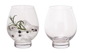 Dartington Crystal Tu3353 4 P Gin Connoisseur Tumblers Glass Clear