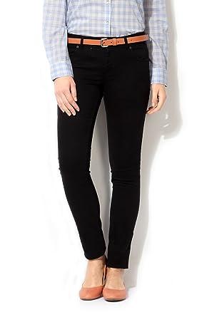 Van Heusen Women's Pleat-Front Jeans Jeans at amazon