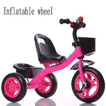 QWM-Las bicicletas infantiles para bebés niño interior al aire libre el pequeño triciclo bicicleta Bicicleta de chico Moto ...