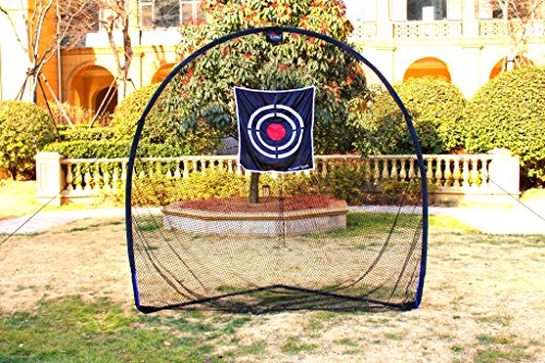 Galileo Golf Swing Net Training Hitting Practice Nets for Backyard Driving Indoor Use with Target&Carry Bag 8'x8'x4' by Galileo Thought (Image #1)