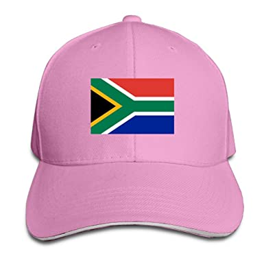 Flag Of South Africa Sandwich Peaked Baseball Caps  Amazon.co.uk  Clothing 960a7fe2e36