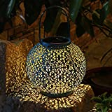 .Introduction: Solar Light Lanterns Outdoor,Perfect For Garden Decor A fun, sustainable and beautiful way to make light, This Solar hanging Lanterns is ideal for garden lighting, decorating your courtyard, lawn,tableand all other outdoor (and indoor...