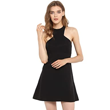 Spotstyl black latest dresses for women for party short dress for womens  western party wear gowns for women dresses for women western wear latest  dresses ... 3d39623860