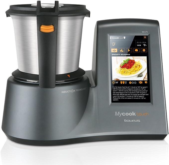Taurus Mycook Touch Robot de Cocina, 1600 W, 2 litros, 0 ...
