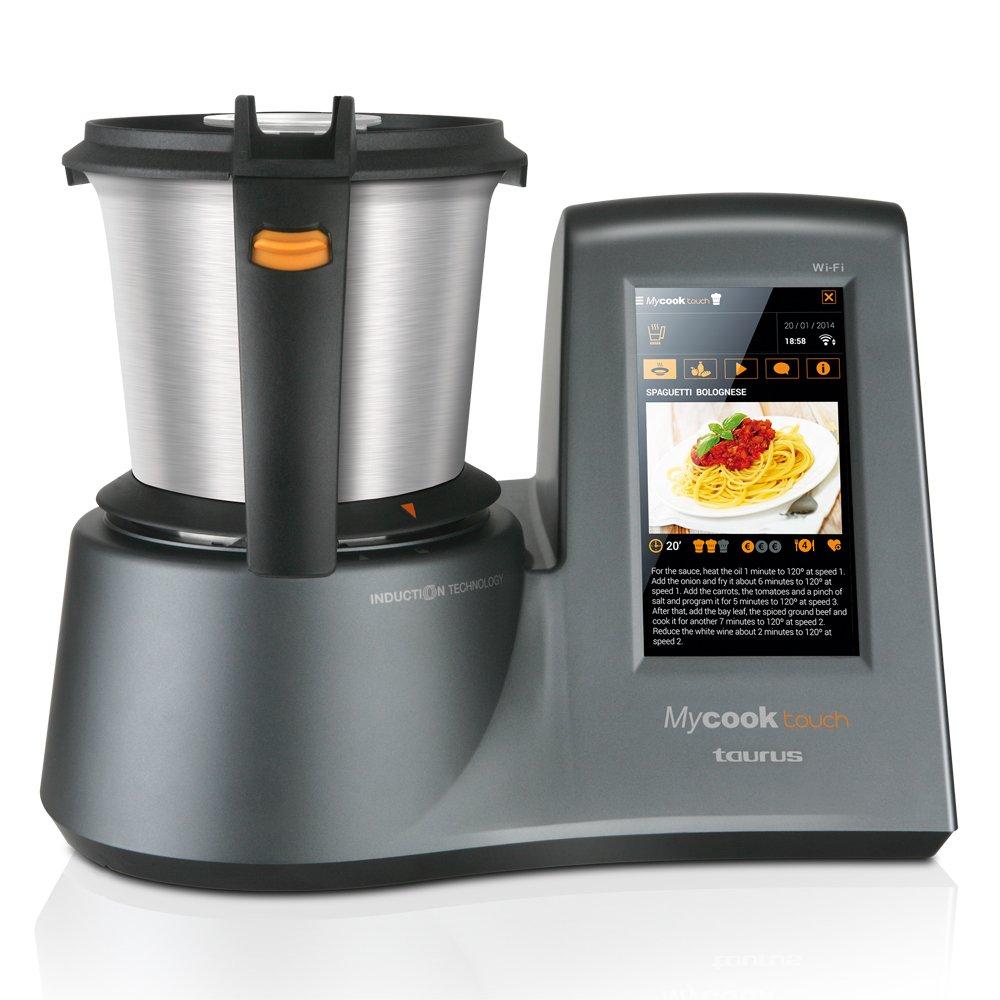 Precio De Robot De Cocina | Taurus Mycook Touch Robot De Cocina Por Induccion Amazon Es Hogar