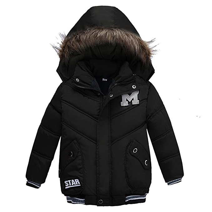 62a898cf2 Amazon.com  Clearance Thanksgiving Day Kids Winter Thick Warm Coat ...