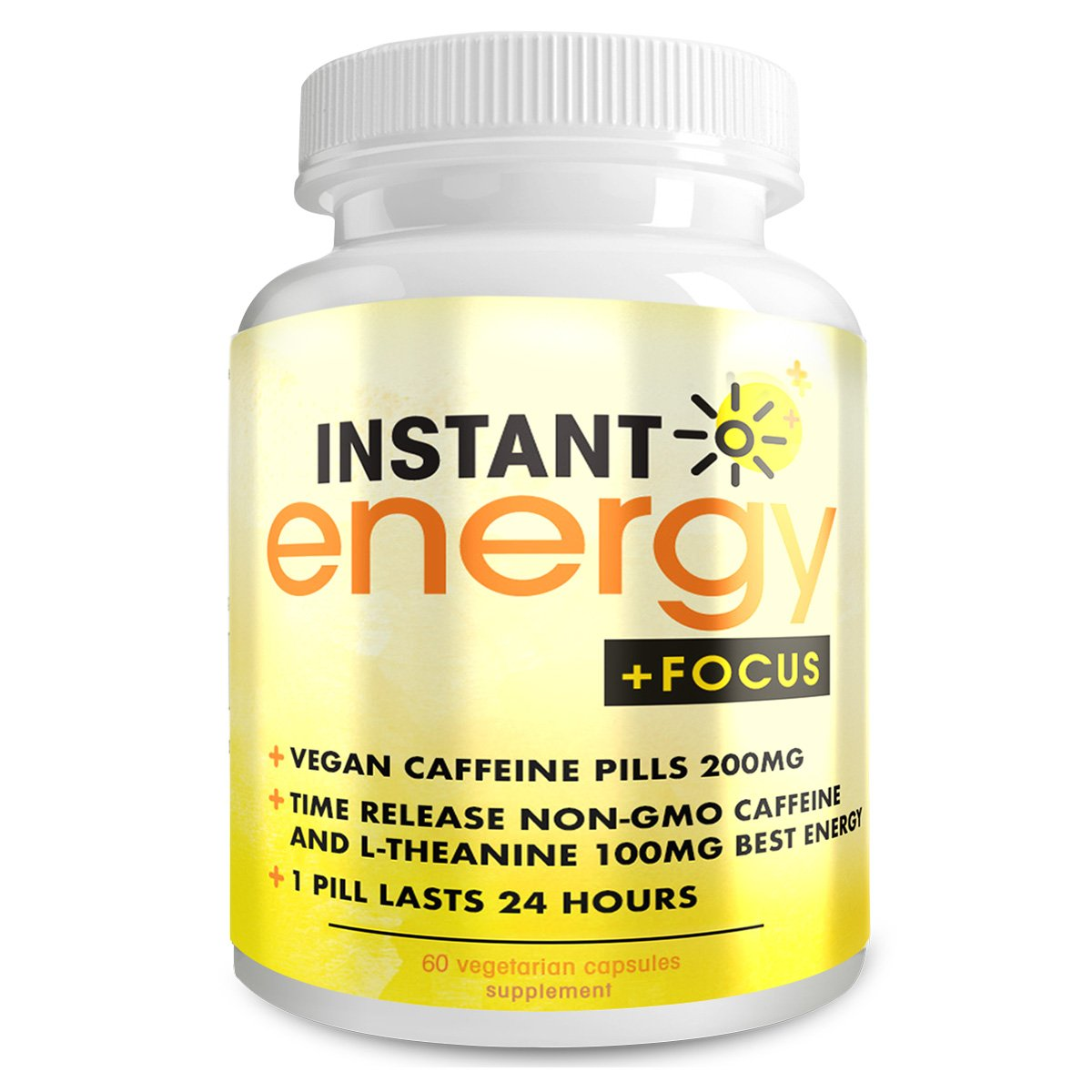 Instant Energy Focus Dietary Supplement, 60 Capsules by Instant Brands