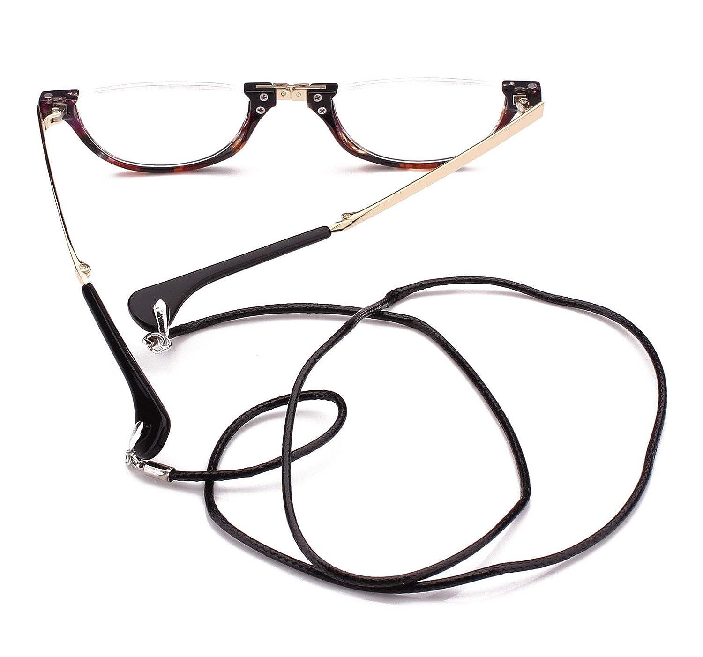 Amazon.com: Agstum - Gafas de lectura plegables para hombre ...
