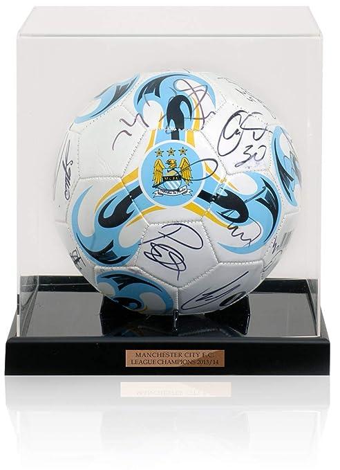 British Sports Museum Manchester City 2013/14 Champions - Balón de ...