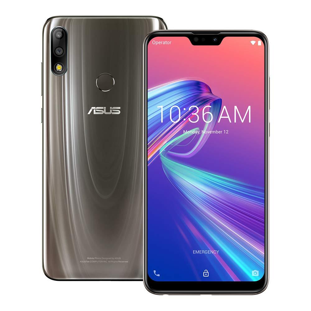 54db65366 Amazon.com  ASUS ZenFone Max Pro (M2) (ZB631KL) 4GB   128GB 6.3-inches LTE Dual  SIM Factory Unlocked - International Stock No Warranty (Cosmic Titanium)   ...