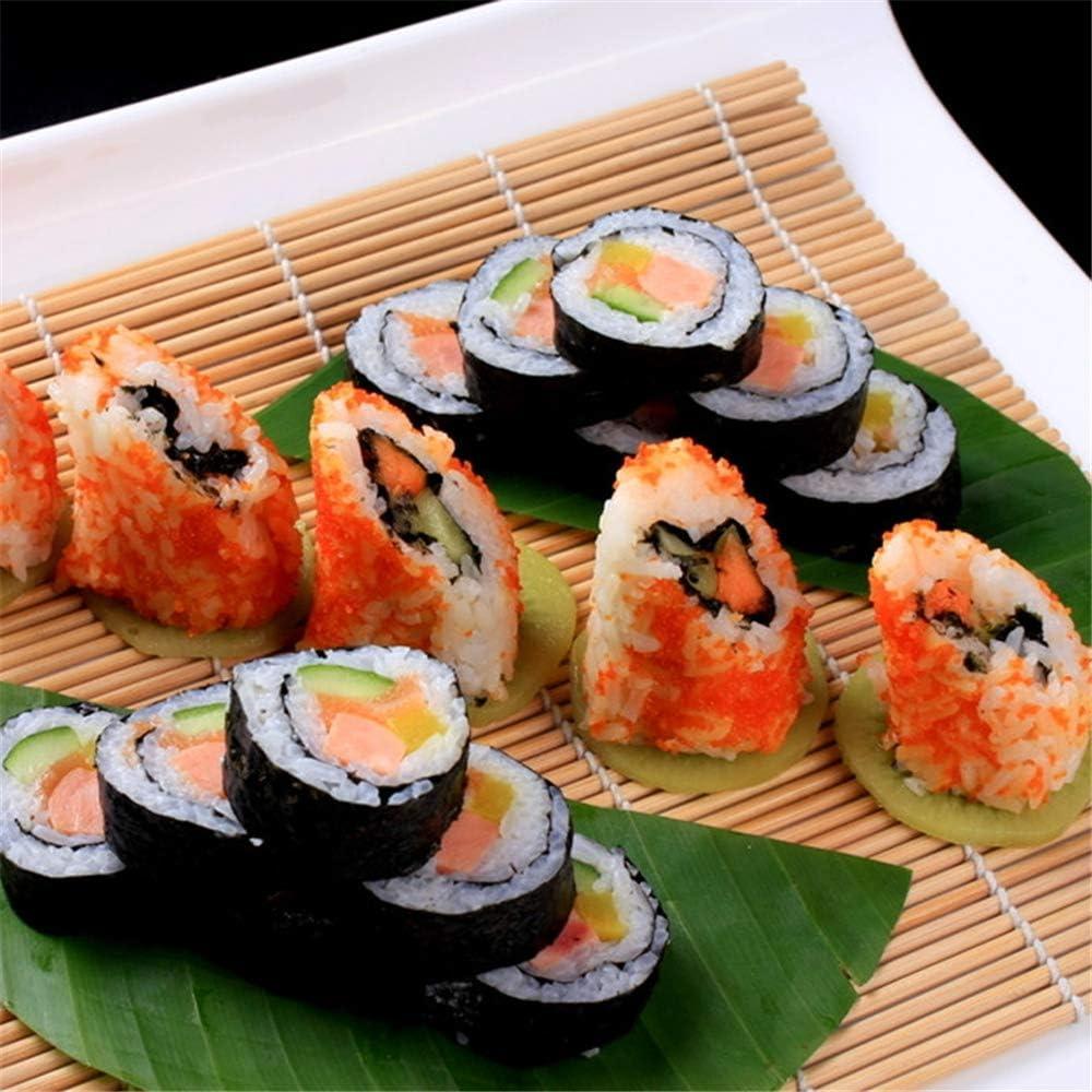 2 Sushi Matte+1 Reisstreuer+1 Paddy Paddel+5 St/äbchen Sushi Selbst Machen Set KEISL Sushi Set 9 Teile -um Ihr eigenes Geschenk f/ür Anf/änger
