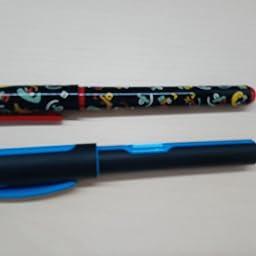 Pelikan 801263 Style Neon, pluma m, Azul: Amazon.es: Oficina y papelería