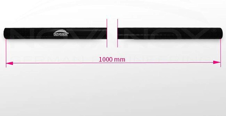 connettore turbo flessibile colore: blu misura a scelta diametro interno: /Ø 40 mm resistente al calore Tubo in silicone da 1 metro
