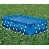 Bestway Toalla Toldo de cobertura piscina rectangular para suelo 399 x 211 cm