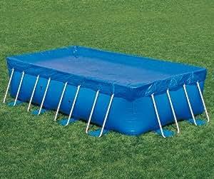 Bestway Toalla Toldo de cobertura piscina rectangular para suelo 396 x 185 cm