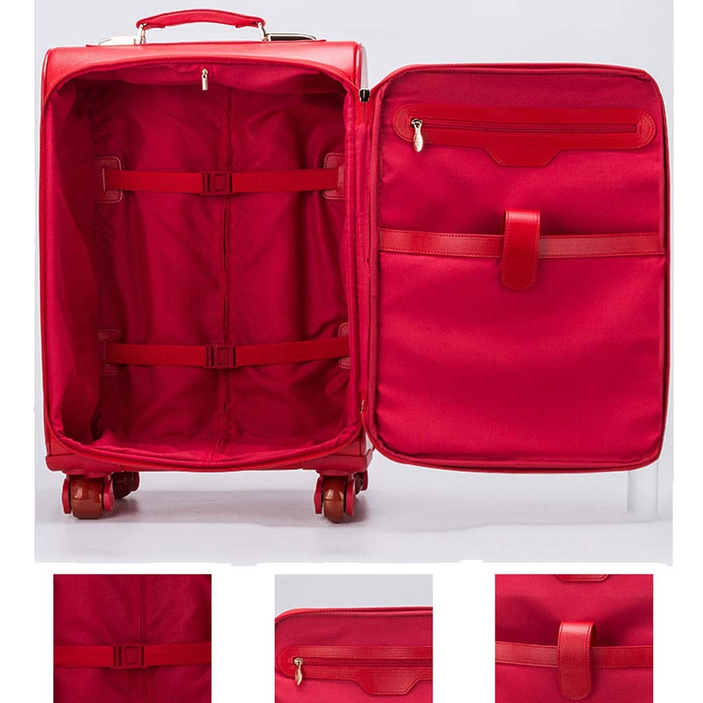 RABILTY Simple Retro Snake Head Lock Rivets Square PU Shoulder Bag Messenger Bag Black Color : Red
