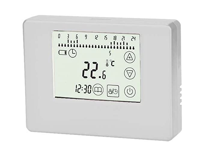 SM-PC®, Digital Funk Raumthermostat Thermostat programmierbar ...