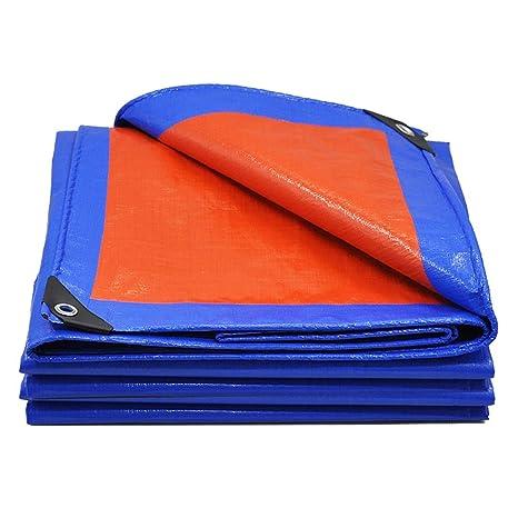 Qing Mei Espesar Exterior Lona Plástica Crepé Lluvia Visera Impermeable Tela Impermeable De Tres Ruedas Cubierta