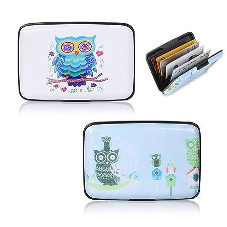 2 piezas Bloqueador de RFID Estuche para tarjetas de crédito ...