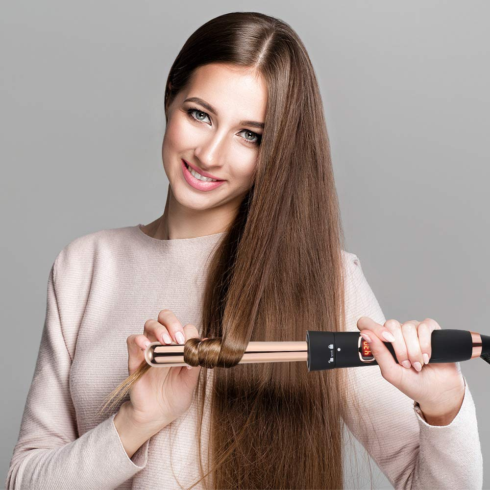 Five-in-One Multi-Function Hair Curler Set Reversible Tube Perm Artifact Multi-Function Hair Curler Straight Hair Curler Big Wave Artifact Styling Tool by ZQhealth (Image #4)