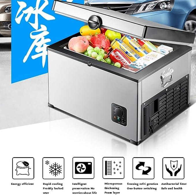 Icool Kompressor Kühlbox Auto Mini Kühlschränke Lkw 24v 12v 220 240v 28l 38l Autokühler Mini Kühlschrank Für Zu Hause Auto Reise Schlafsaal Büro Selbstfahrer Tour Size 35l