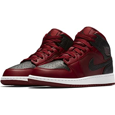 best service b6928 25262 Image Unavailable. Image not available for. Color  Nike Jordan Kid s Air  Jordan 1 Mid BG ...
