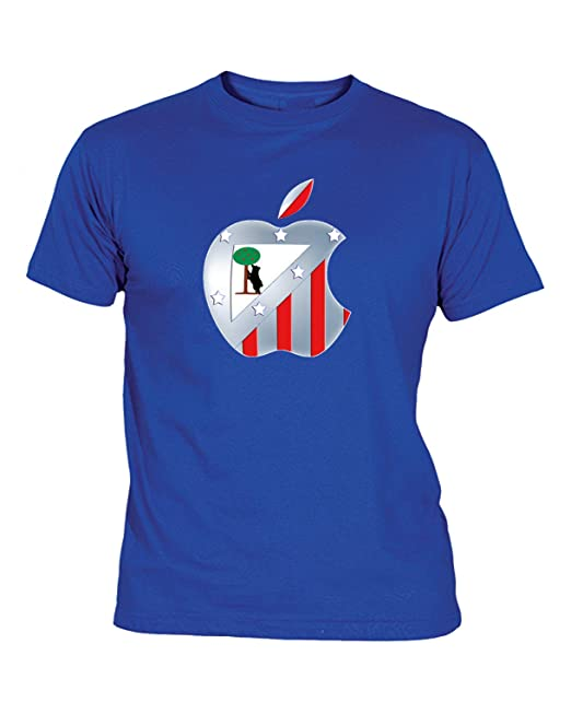 Camiseta Hombre ATLÉTICO DE Madrid Escudo Atleti Manzana