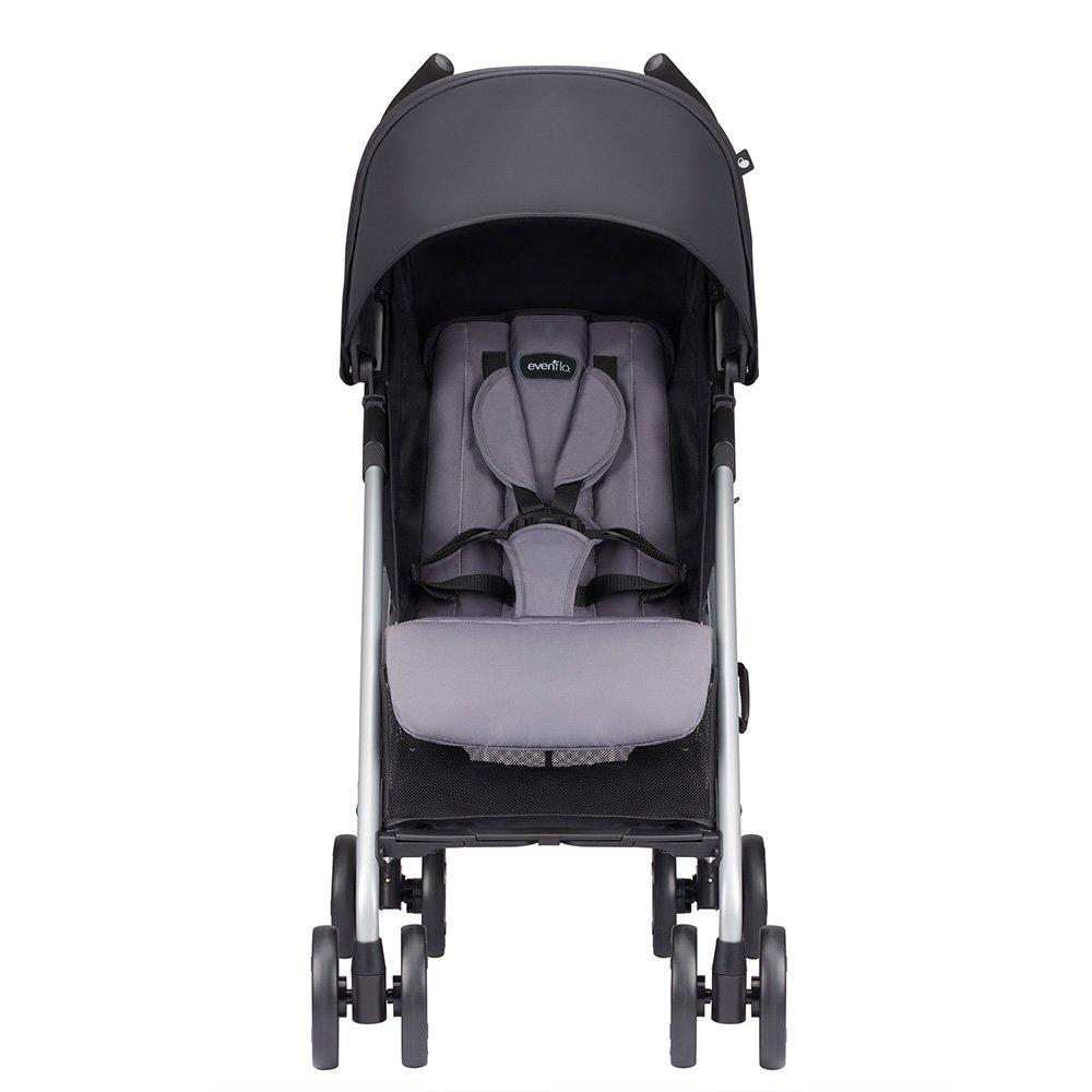 Amazon.com : Evenflo Minno Lightweight Stroller, Glenbarr Grey : Baby