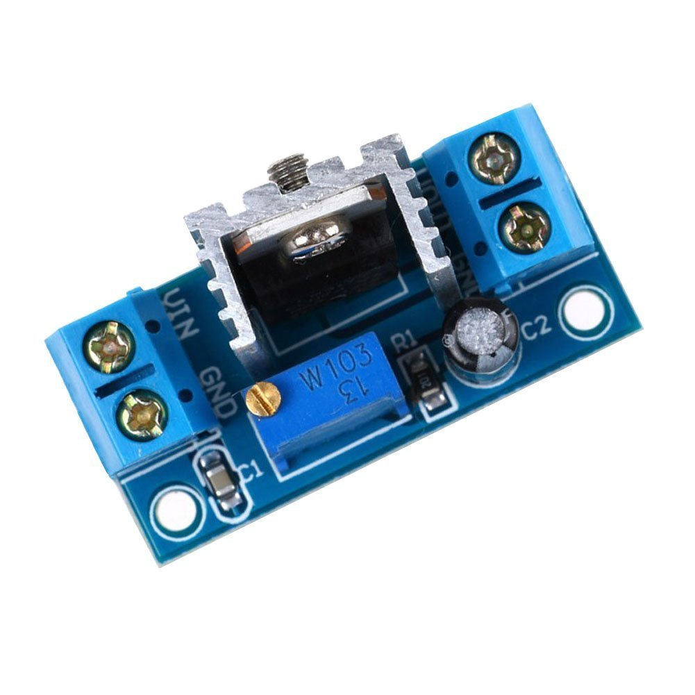 2 Pcs Lm317 Dc Converter Buck Step Down Circuit Board Battery Chargher Using Regulator Schematic Module Linear Adjustable Voltage Power Supply Home Audio Theater