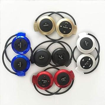 OLPvh Reproductor de Mp3 Reproductor de MP3 Auricular Bluetooth ...