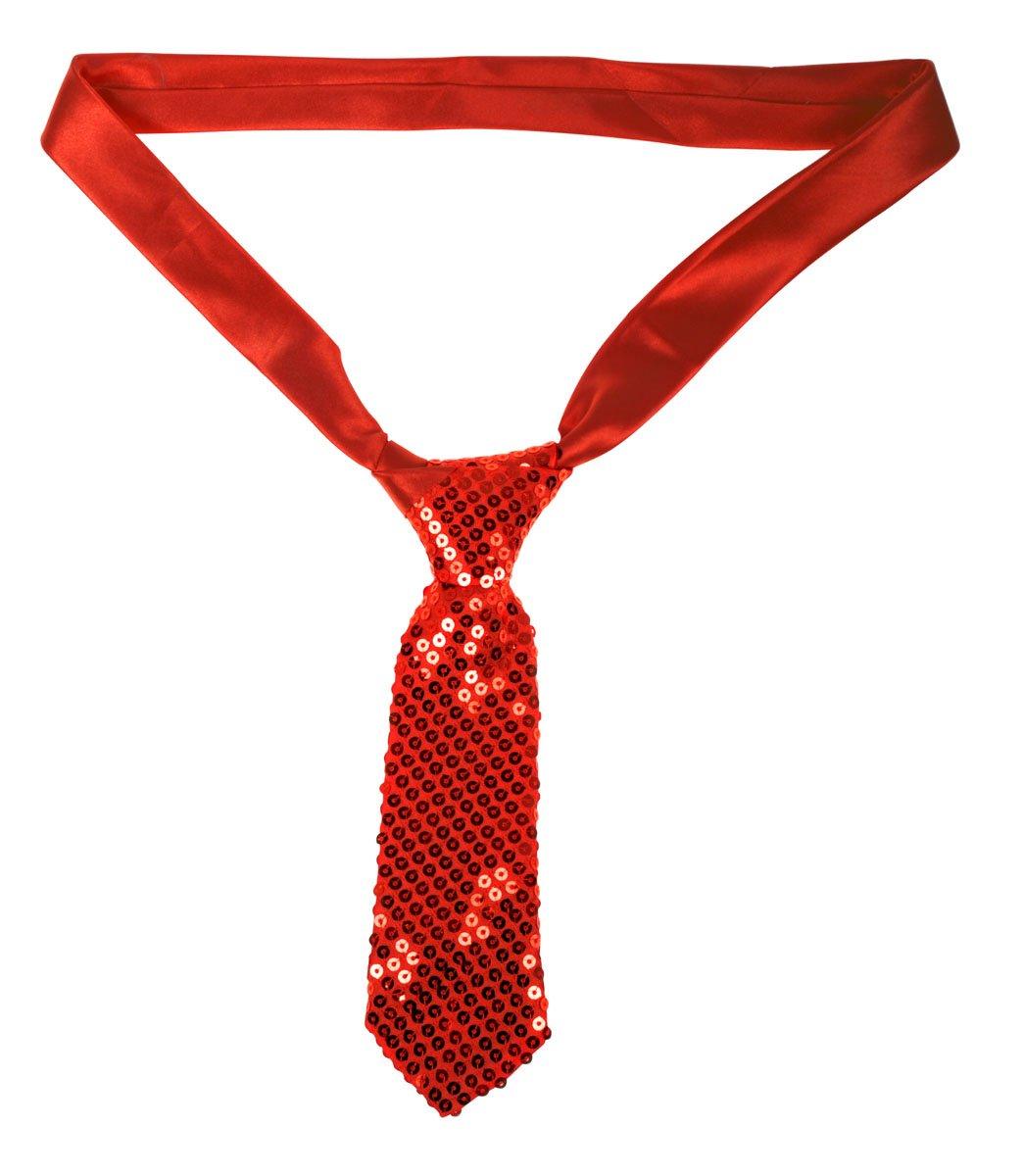 Lentejuelas corbata rojo de carnaval casi noche: Amazon.es: Hogar