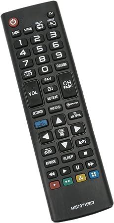 Nueva akb73715607 Mando a Distancia de Repuesto para televisores Smart LED HDTV LG 60PB6600 60PB6900 50pb6650 60pb6650 50PB6600 32LN530B 39LN5300 42LN5200: Amazon.es: Electrónica