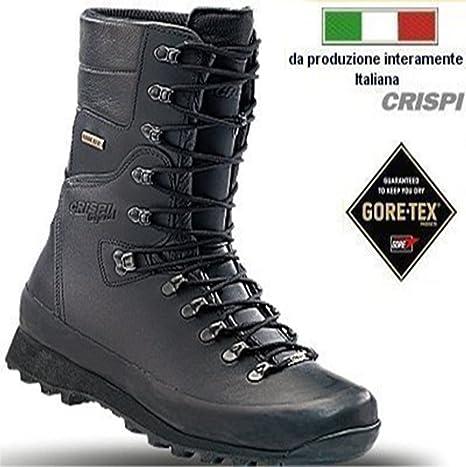 Anfibi Crispi Hunter HTG Legend 42 taglia colore nero