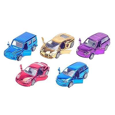 Ensemble de 5 voitures classiques Mini modèles de véhicules