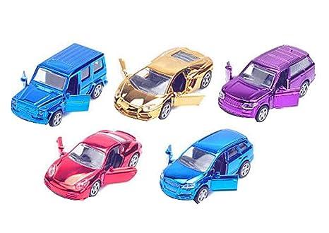 Amazon Com Set Of 5 Classic Mini Cars Model Toys New Style Car