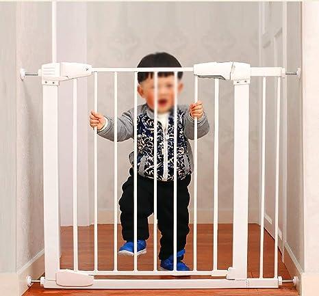 Infantes y niños Puerta de seguridad Barrera para escaleras de bebé Perro para mascotas Parque infantil Cerca de poste Aislamiento Altura de la puerta 76 cm (Tamaño: 65-71 cm): Amazon.es: Bebé