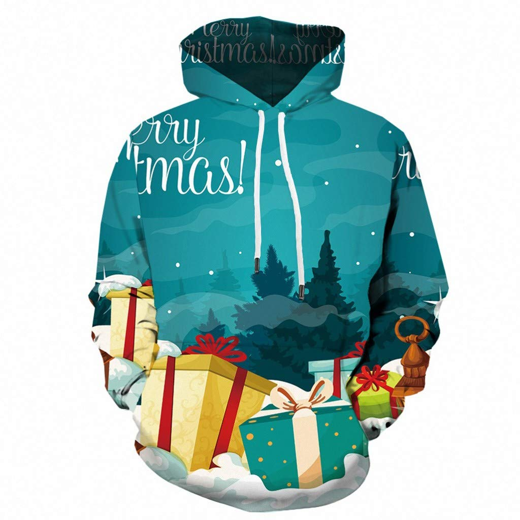Opinionated Unisex 3D Printed Drawstring Hoodies Pullover Sweatshirts with Big Pockets by Opinionated