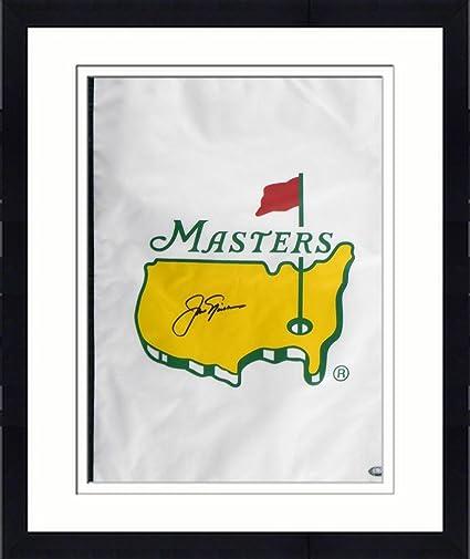 Framed Jack Nicklaus Signed Golf Flag - LOA - JSA Certified ...