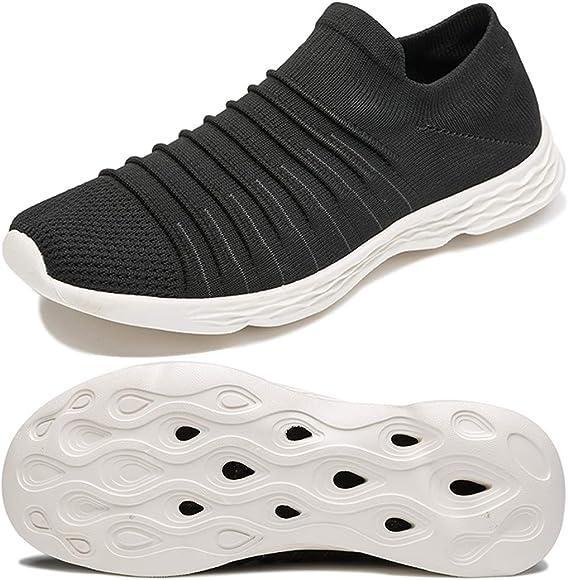 Anbenser Mens Walking Shoes Lightweight