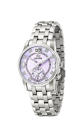 Jaguar Watches – Reloj de pulsera analógico para mujer (tamaño XS cuarzo acero inoxidable J623