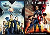 Marvel MCU 2-Movie Bundle - Captain America: The First Avenger & X-Men First Class 2-DVD Set
