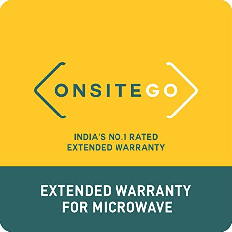 OnsiteGo 2 Years Extended Warranty for Microwaves (Rs. 0 to 7000) Extended Warranty at amazon