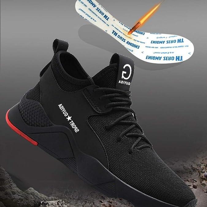 Amazon.com: Ceville - Zapatos de seguridad para hombre con ...