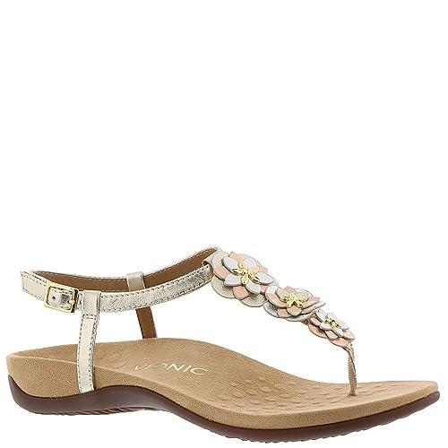 f15c89cc602 Vionic Womens Paulie Leather Sandals  Amazon.ca  Shoes   Handbags