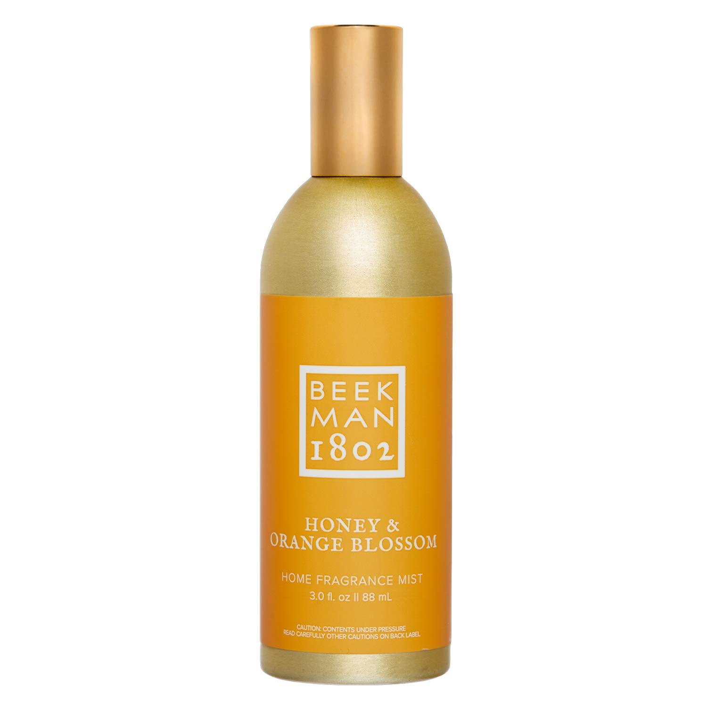 Beekman 1802 - Home Fragrance Mist - Honey & Orange Blossom - Scented Mist for Home - 3 oz