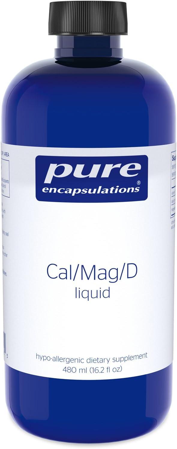 Pure Encapsulations Cal/Mag/D Liquid 480 ml