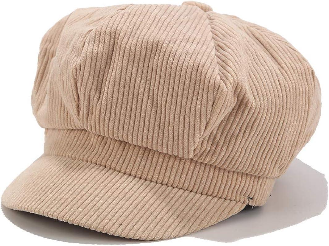 Women Striped Newboys Caps...